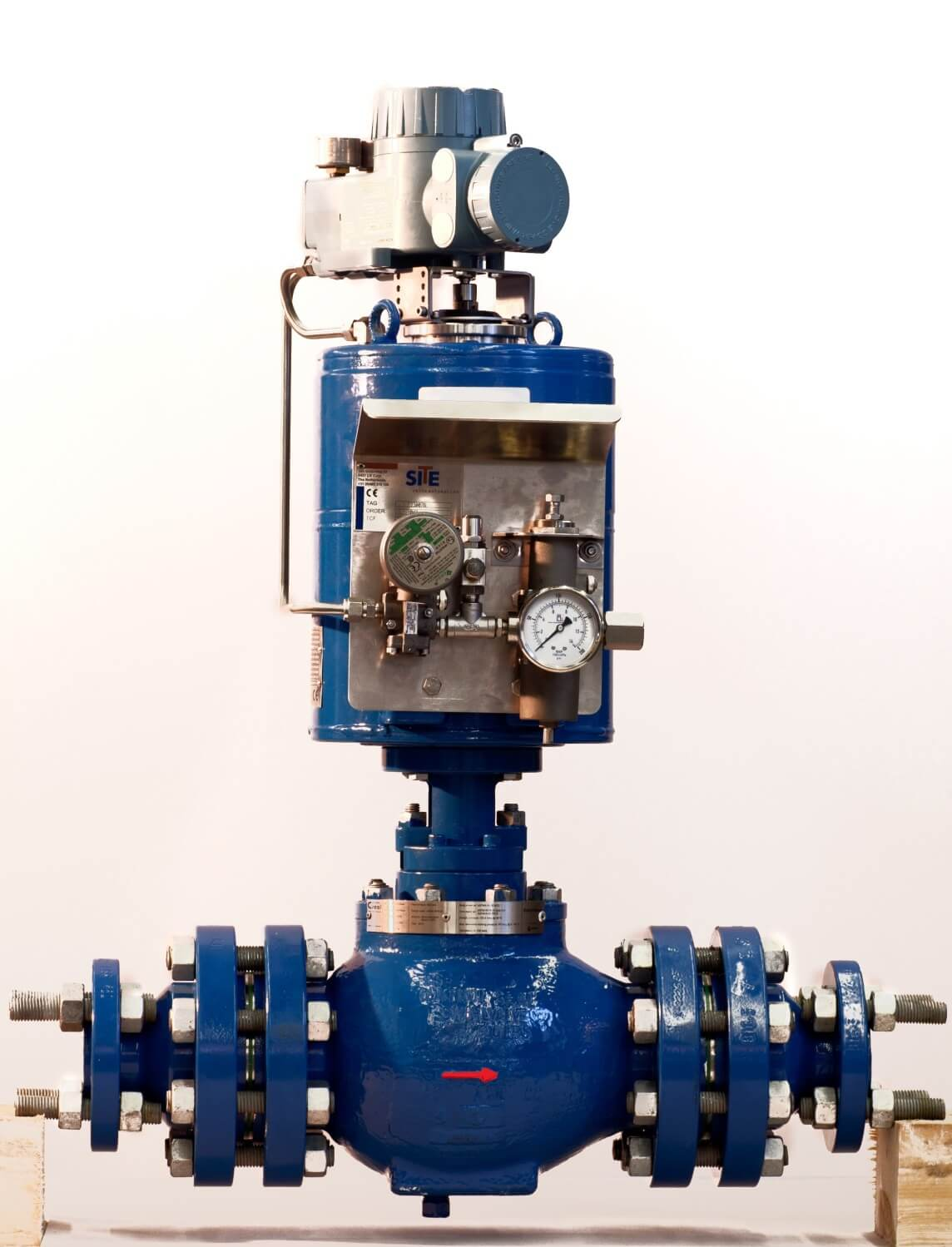 Axial Flow Regulator : Axial flow valve afv by control seal