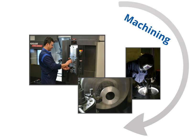 Company tour machining