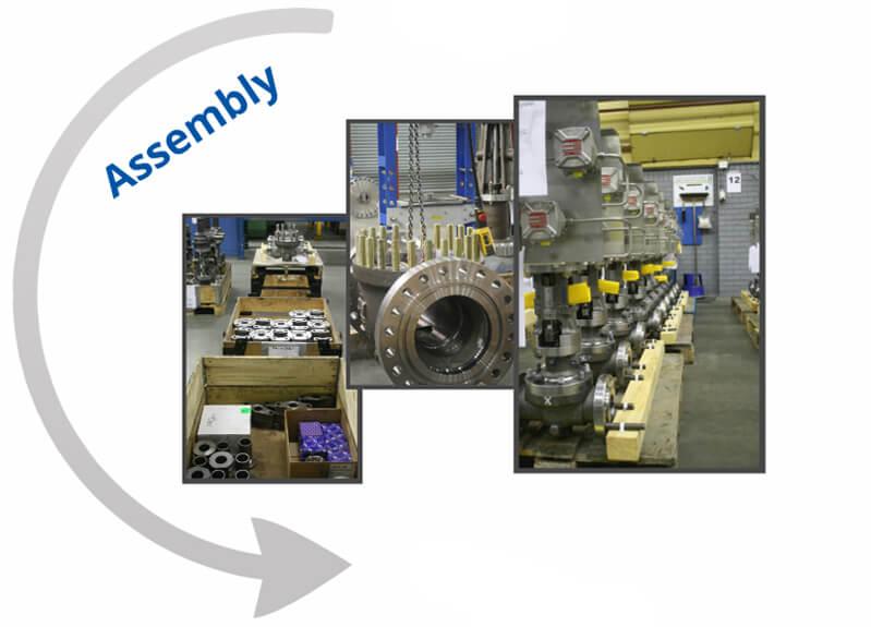 Company tour assembly